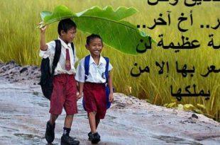 صورة اجمل كلام عن الصداقة , حب الاصدقاء الاعزاء