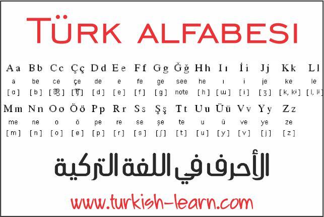 صوره تعلم تركي , اللغه التركيه السهله