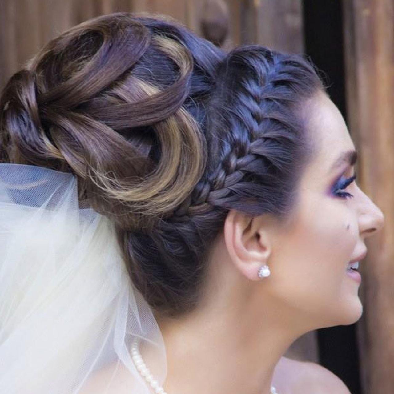 بالصور احلى تسريحه عروس , تسريحات راقيه للعروسه 2153 8