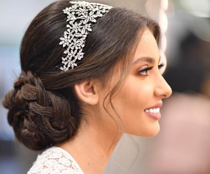 بالصور احلى تسريحه عروس , تسريحات راقيه للعروسه 2153 9