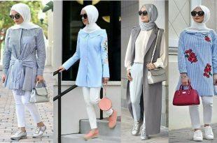 صوره ملابس محجبات تركية , تصميمات ازياء تركية جديدة
