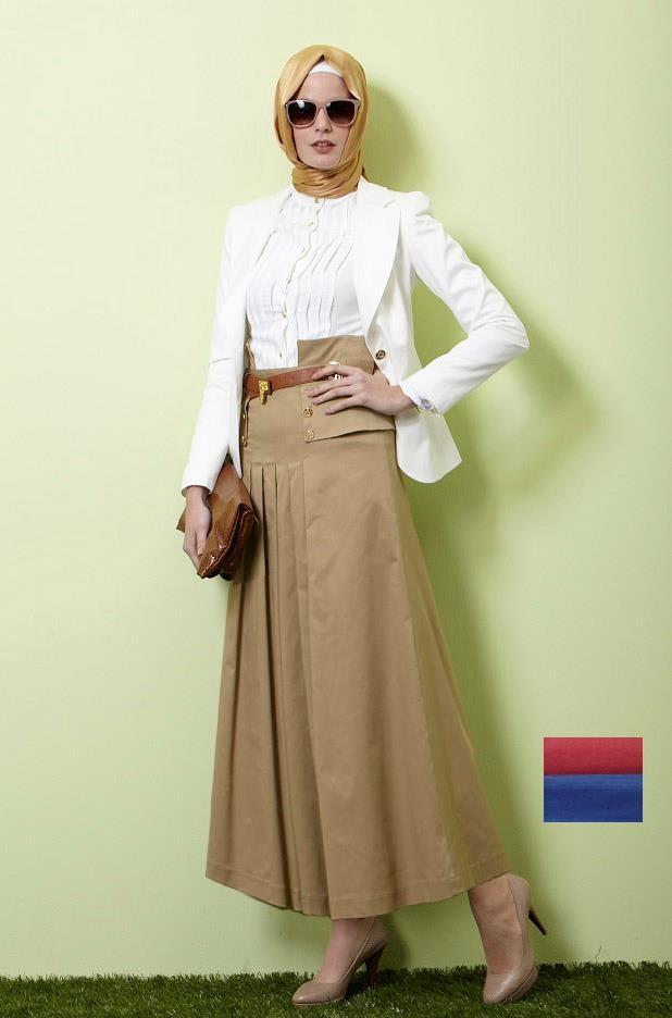 بالصور ملابس محجبات تركية , تصميمات ازياء تركية جديدة 245 3