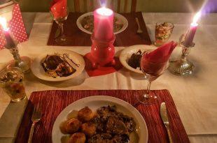صور عشاء رومانسي , صور لابتكارات رقيقة لمائدة عشاء رومانسية