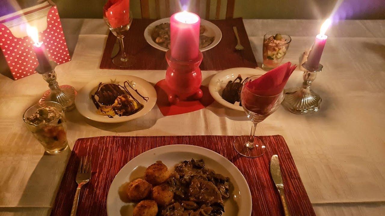 صورة عشاء رومانسي , صور لابتكارات رقيقة لمائدة عشاء رومانسية