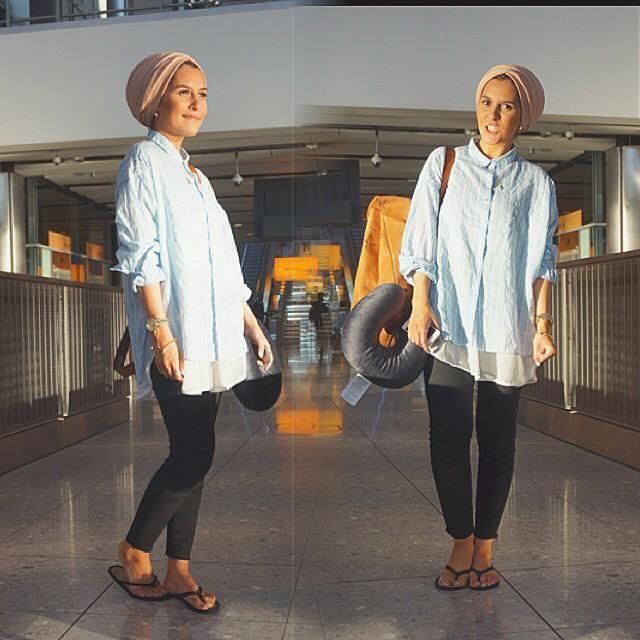 بالصور بلوزات للمحجبات , قميص نسائي انيق للمراة المحتشمة 2979 10