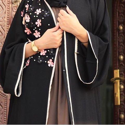 صورة عبايات كويتية , اجمل عبايات بالكويت 3563