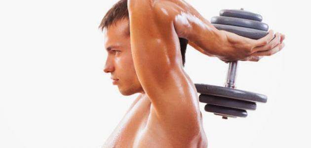 بالصور تمارين العضلات , رياضة لتكوين عضلات الجسم 3569 1