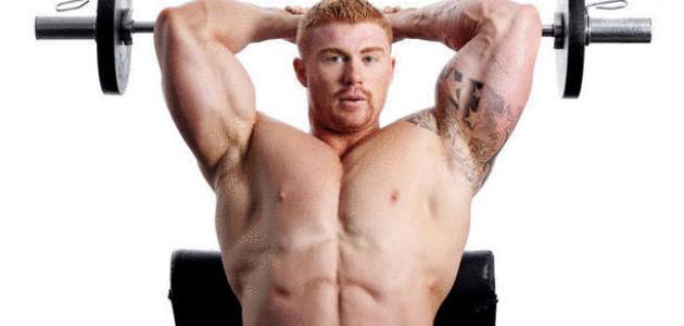 بالصور تمارين العضلات , رياضة لتكوين عضلات الجسم 3569