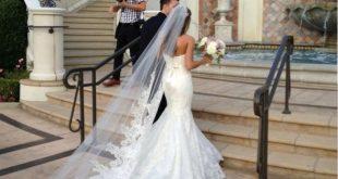 صوره طرحة العروس , اجمل موديلات طرح للعروس 2018