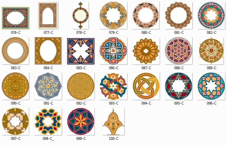 بالصور زخرفة عربية , نقوش متنوعة و عربية 3571 2