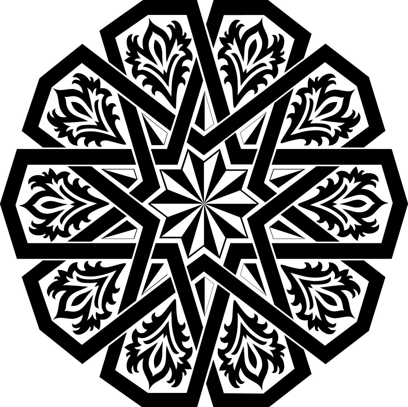 بالصور زخرفة عربية , نقوش متنوعة و عربية 3571 6