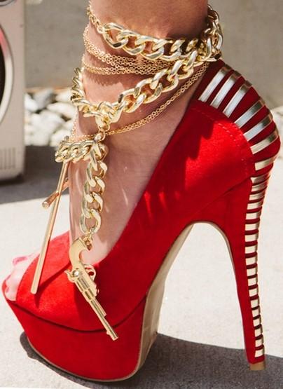 بالصور اجمل احذية , احلى واشيك الشوزات 3637 5