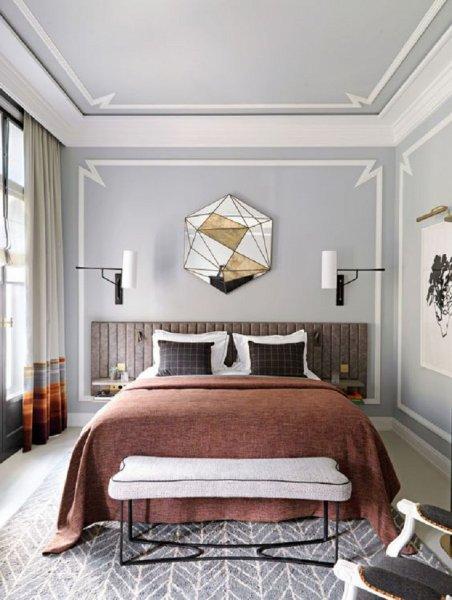 بالصور دهانات غرف نوم , الوان حوائط لغرفة النوم 3707 5