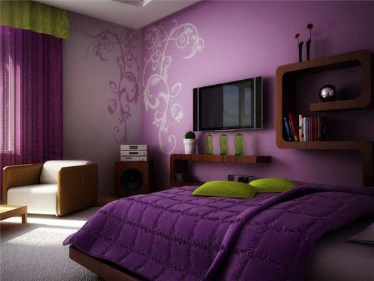 بالصور دهانات غرف نوم , الوان حوائط لغرفة النوم 3707 8