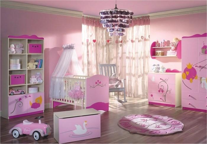 بالصور غرف نوم بنات اطفال , احدث اشكال غرف بناتي 6489 6