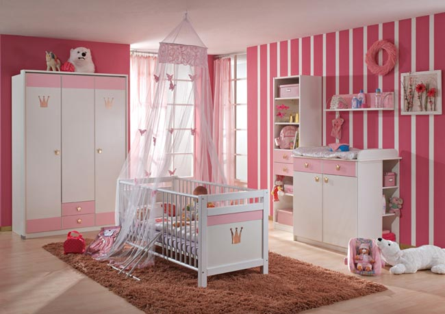 بالصور غرف نوم بنات اطفال , احدث اشكال غرف بناتي 6489 8