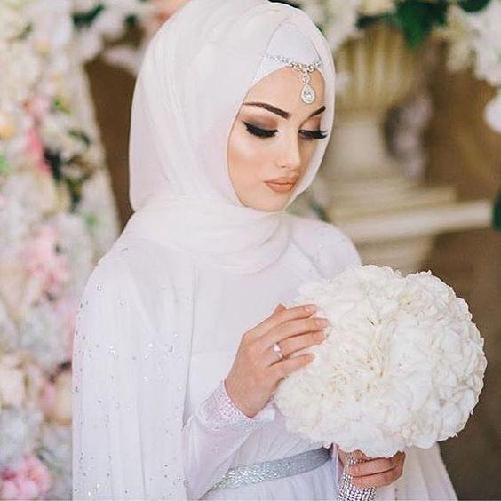 بالصور صور عرايس محجبات , عرايس محجبات جميله جداا واشكال حجاب جديده 6571 10