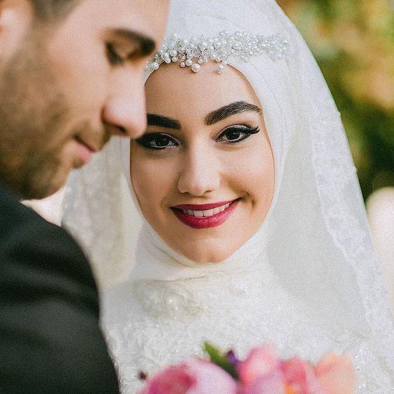 بالصور صور عرايس محجبات , عرايس محجبات جميله جداا واشكال حجاب جديده 6571 11