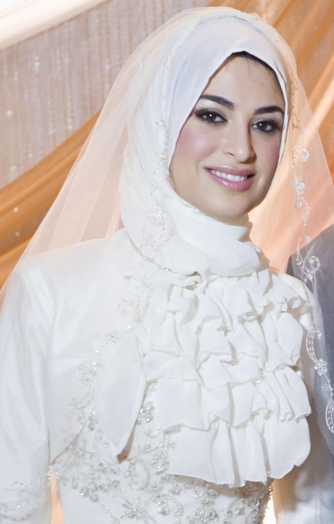 بالصور صور عرايس محجبات , عرايس محجبات جميله جداا واشكال حجاب جديده 6571 4