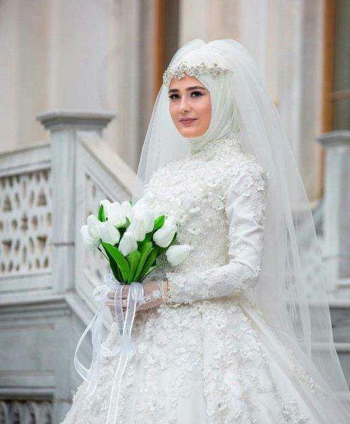 بالصور صور عرايس محجبات , عرايس محجبات جميله جداا واشكال حجاب جديده 6571 5