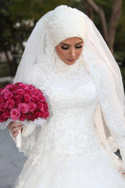 بالصور صور عرايس محجبات , عرايس محجبات جميله جداا واشكال حجاب جديده 6571 6