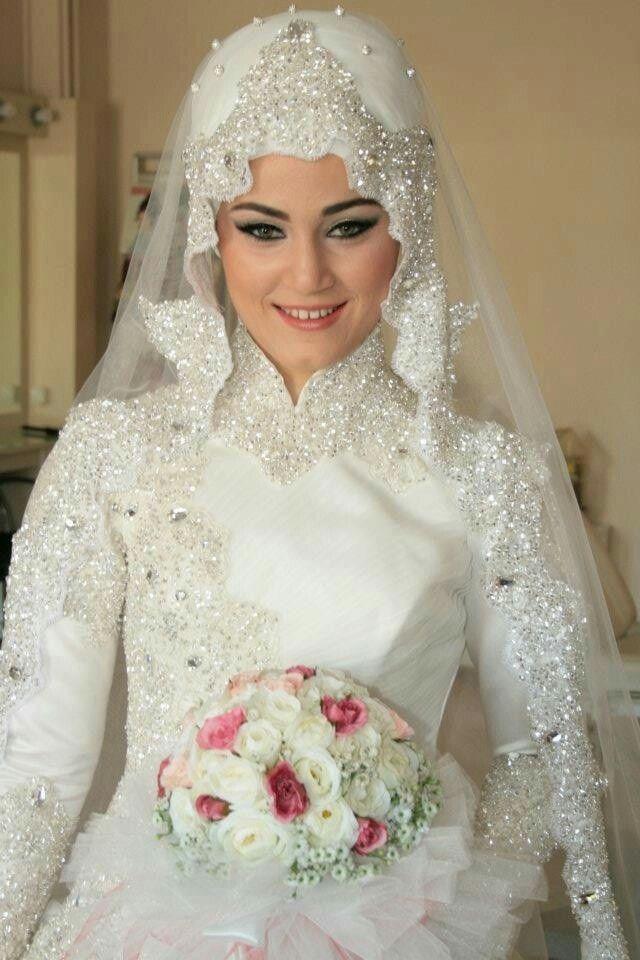 بالصور صور عرايس محجبات , عرايس محجبات جميله جداا واشكال حجاب جديده 6571 7
