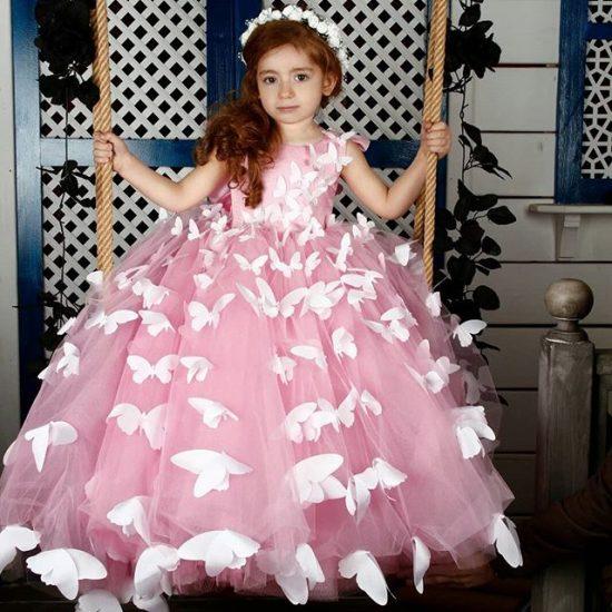 بالصور فساتين سواريه اطفال , تالقي طفلتك بفساتين السواريه 6592 10