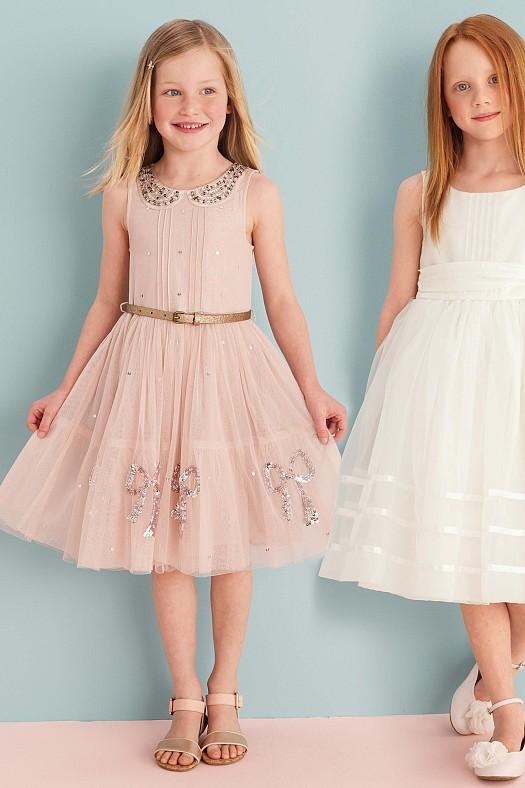 بالصور فساتين سواريه اطفال , تالقي طفلتك بفساتين السواريه 6592 4
