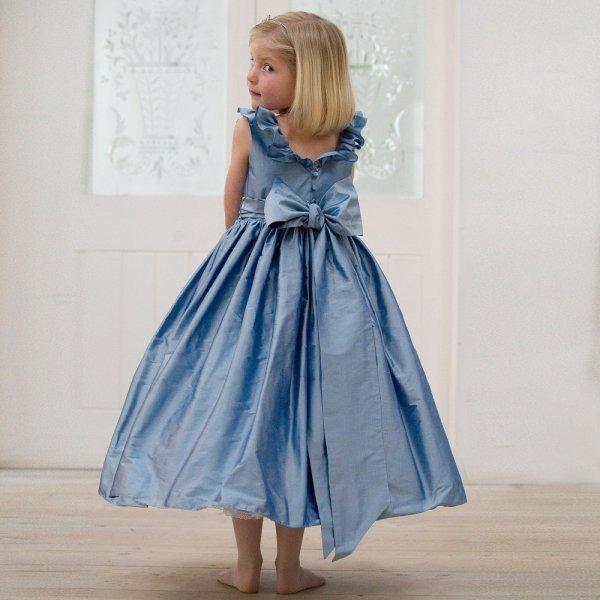 بالصور فساتين سواريه اطفال , تالقي طفلتك بفساتين السواريه 6592 8