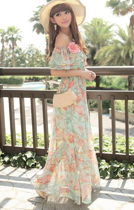 بالصور فساتين صيفية , تالقي باجمل الفساتين الصيفيه 6652 9