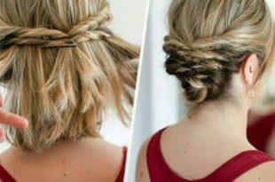 صورة تسريحات شعر قصير , تسريحات شعر قصير سهله وجميله