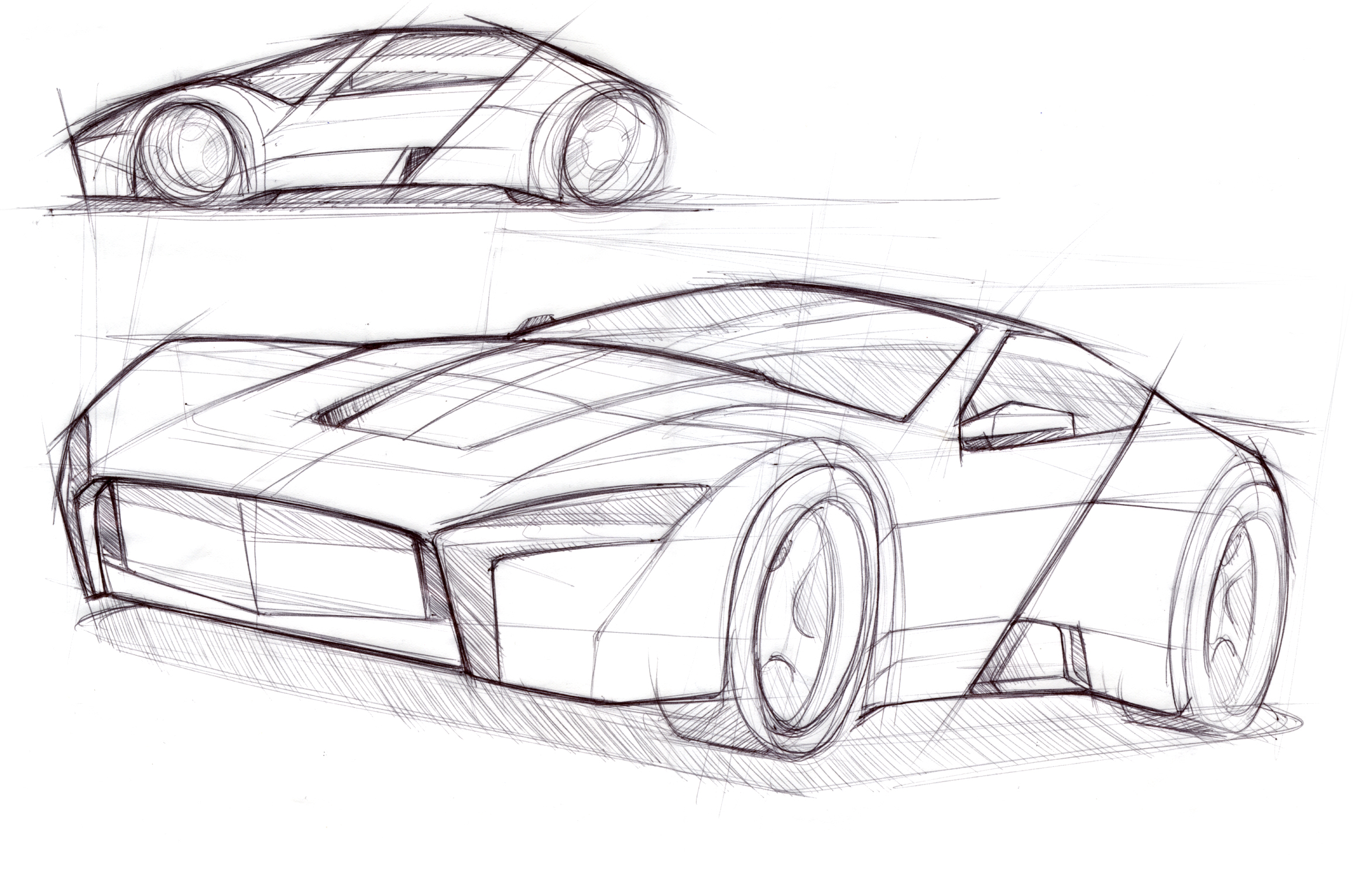 بالصور تصميم سيارات , رسومات سيارات جميله 6664 11