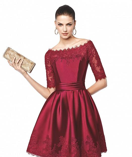 صوره صور فساتين سهرة قصيرة , اشيك الفساتين السهره القصير لم تشاهدوها من قبل
