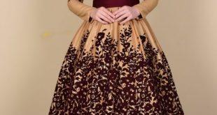 بالصور فساتين سواريه للمحجبات 2019 , اشيك الفساتين السواريه للمحجبات 6724 14 310x165