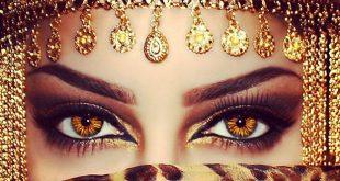 صوره صور عيون بنات , صور لسحر العيون بالكحل العربي والنظرات الناعسة