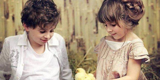 بالصور صور بنت وولد , براءة المشاعر في لقطات طريفة لاطفال زي العسل 2796 13 660x330