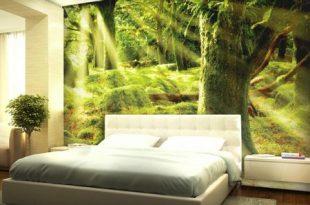 بالصور ورق جدران غرف نوم , احدث تشكيلة عصرية لديكورات ورق الحائط لجدران غرفة نومك 3028 15 310x205