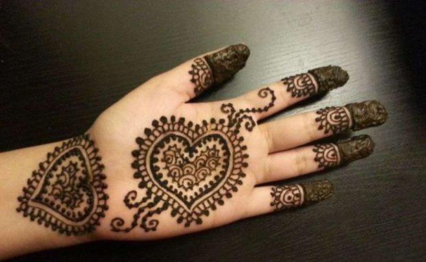 بالصور نقشات حناء انستقرام , للعروس الرقيقة اليكي احدث استايلات رسم الحناء على اليدين والاظافر 5982 5
