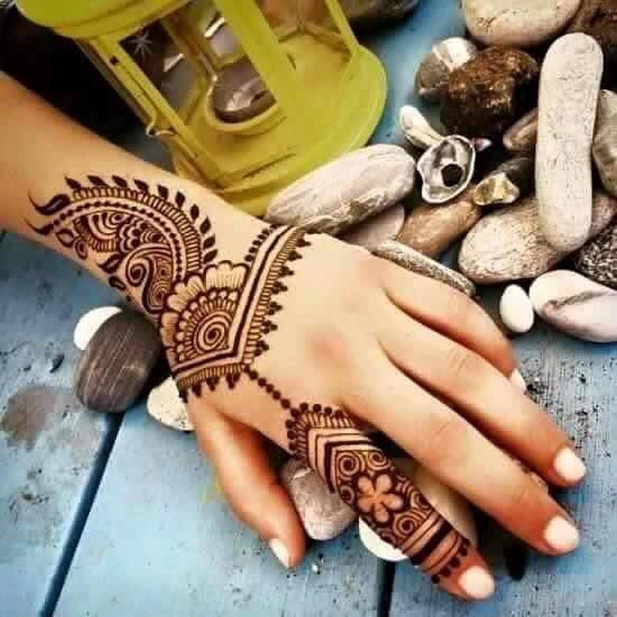 بالصور نقشات حناء انستقرام , للعروس الرقيقة اليكي احدث استايلات رسم الحناء على اليدين والاظافر 5982