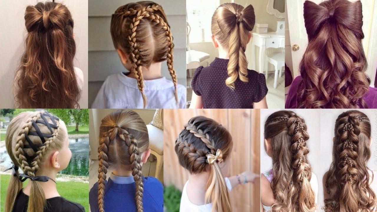 بالصور بالصور تسريحات شعر للاطفال , طرق مبتكرة لتصفيف شعر ابنتك بشكل جذاب ورقيق 6211 13