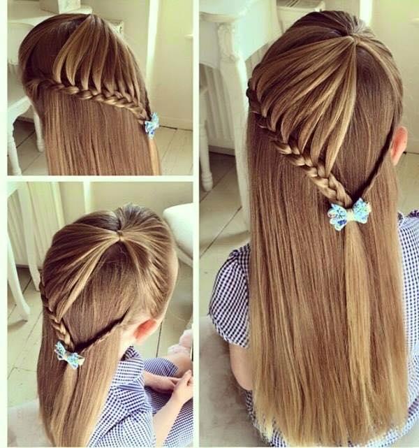 بالصور بالصور تسريحات شعر للاطفال , طرق مبتكرة لتصفيف شعر ابنتك بشكل جذاب ورقيق 6211 14
