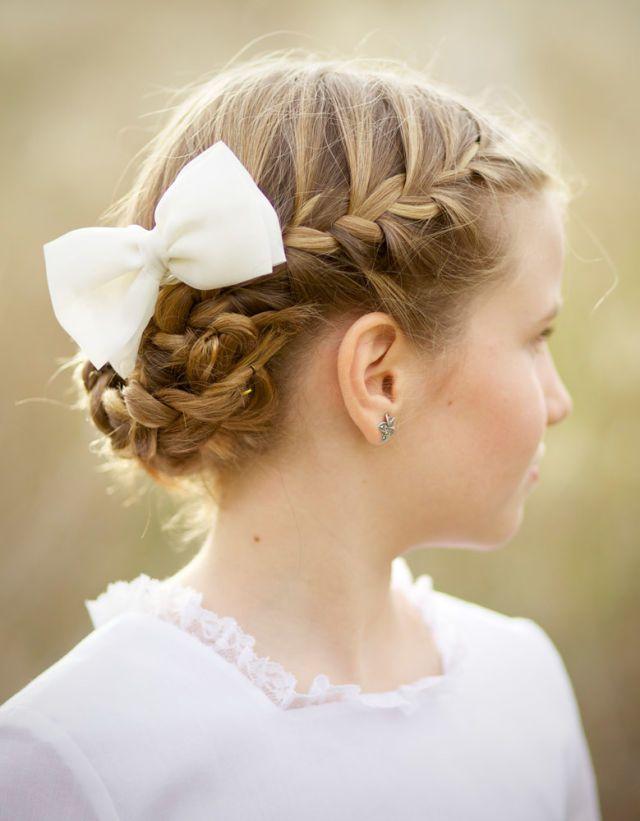 بالصور بالصور تسريحات شعر للاطفال , طرق مبتكرة لتصفيف شعر ابنتك بشكل جذاب ورقيق 6211 4