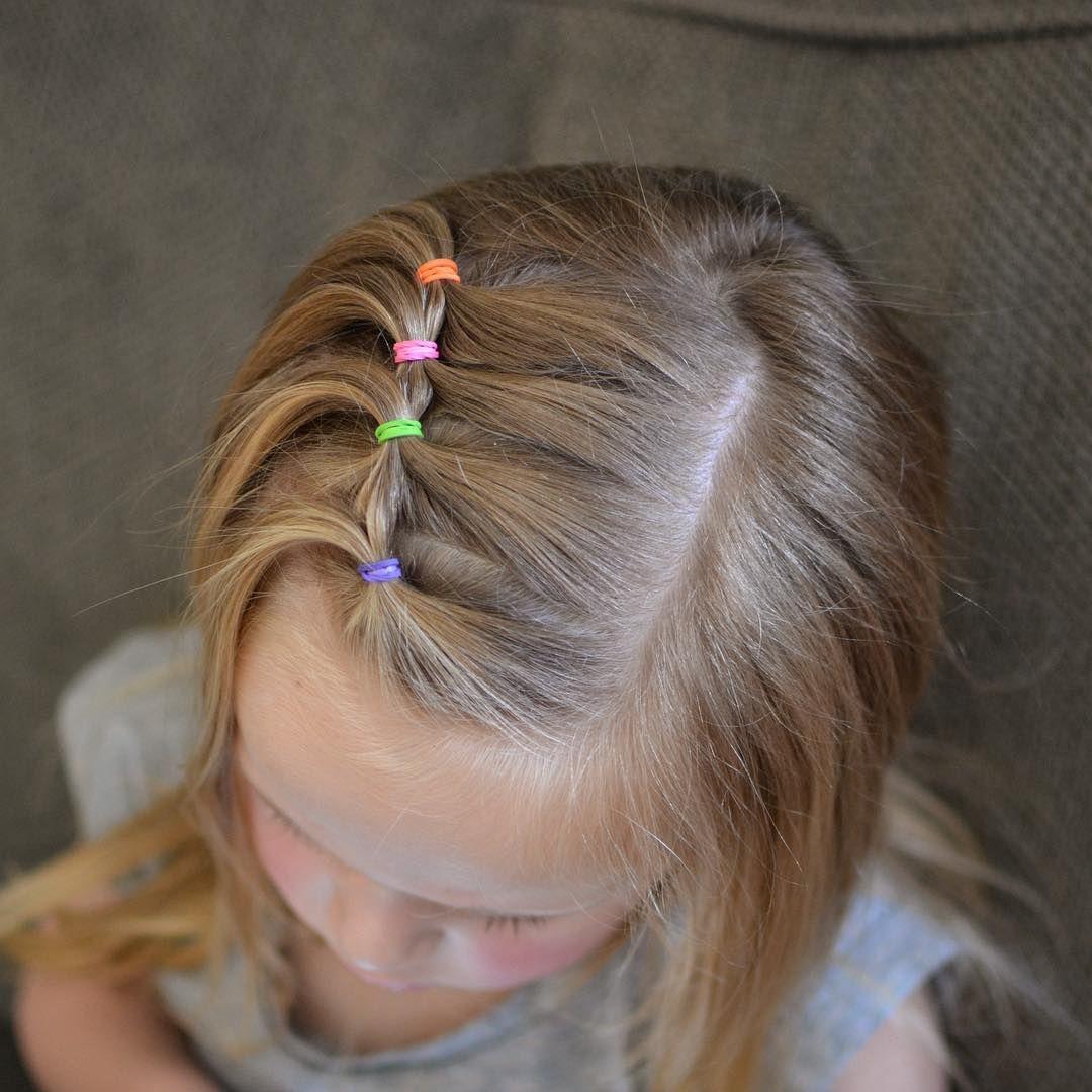 بالصور بالصور تسريحات شعر للاطفال , طرق مبتكرة لتصفيف شعر ابنتك بشكل جذاب ورقيق 6211 6
