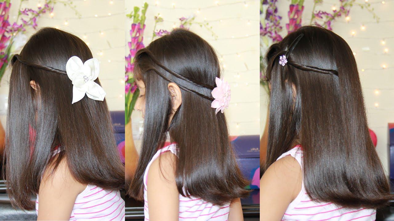 بالصور بالصور تسريحات شعر للاطفال , طرق مبتكرة لتصفيف شعر ابنتك بشكل جذاب ورقيق 6211 8
