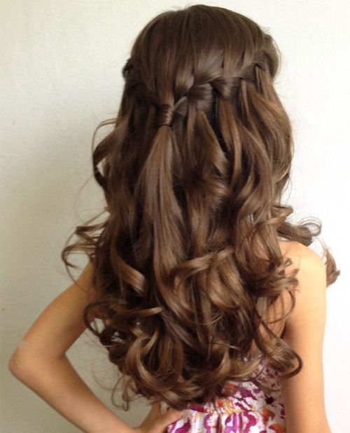 بالصور بالصور تسريحات شعر للاطفال , طرق مبتكرة لتصفيف شعر ابنتك بشكل جذاب ورقيق 6211 9