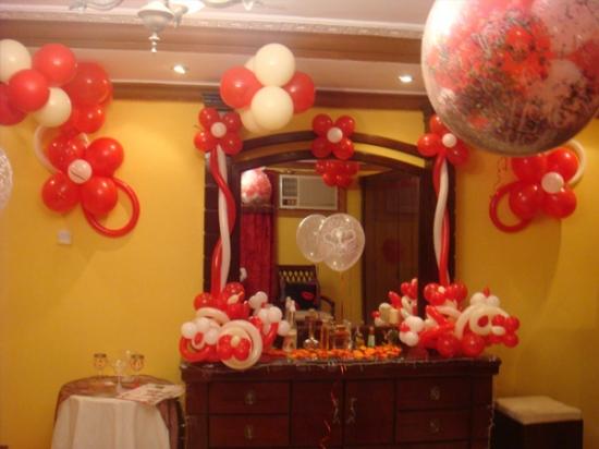 بالصور تزيين البيت , افكار لديكور المنزل وزينة المناسبات والاحتفالات العائلية السعيدة 6006 4