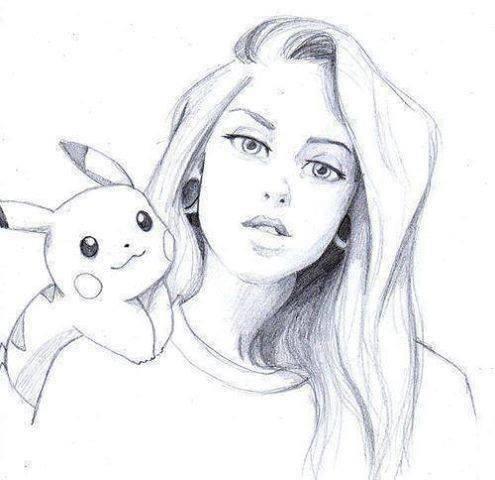 بالصور رسومات بنات جميلة , اسكتشات سهلة الرسم بالقلم الرصاص لوجوه فتيات رقيقة 1363 10