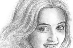 بالصور رسومات بنات جميلة , اسكتشات سهلة الرسم بالقلم الرصاص لوجوه فتيات رقيقة 1363 15 310x205