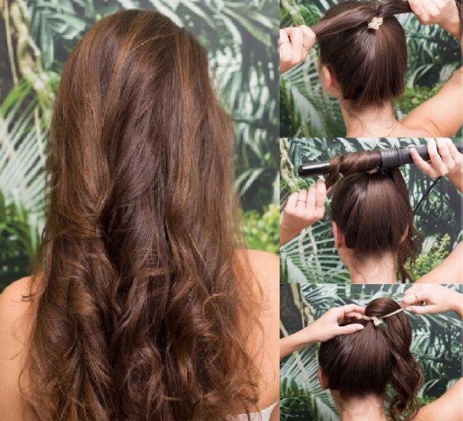 بالصور تسريحات سهله , فورمة شعر انيقة جدا وبدون الذهاب لصالون التجميل 2458 1
