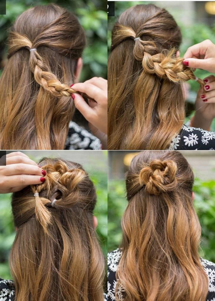 بالصور تسريحات سهله , فورمة شعر انيقة جدا وبدون الذهاب لصالون التجميل 2458 6